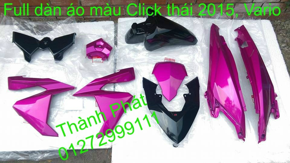 Phu tung Honda Click i 125 doi 2015 thailan Va Vario150 Gia tot - 19