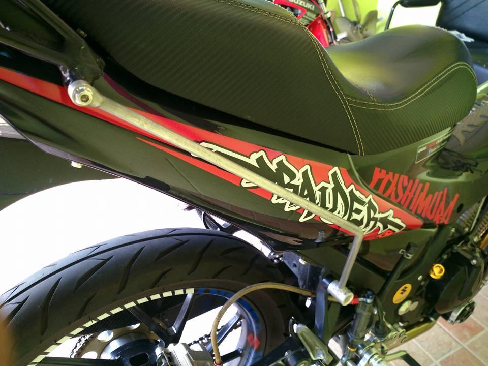 Suzuki raider version yoshimura day an tuong - 8
