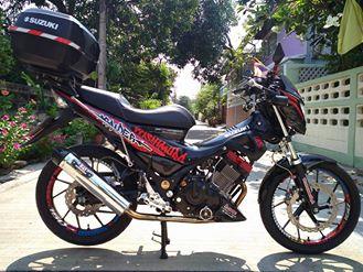 Suzuki raider version yoshimura day an tuong - 12