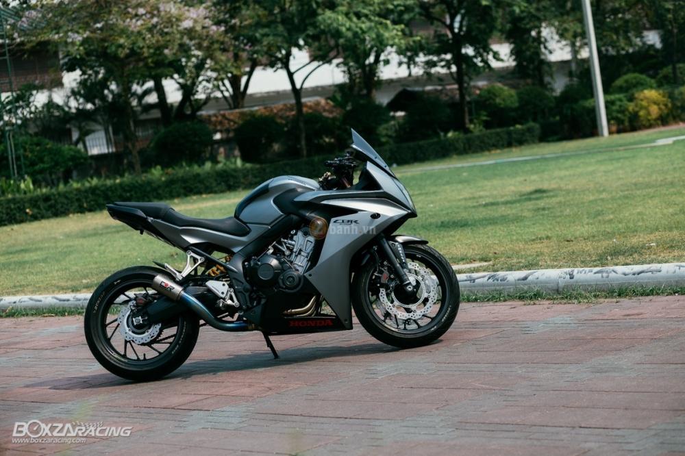 Ve dep sieu ngau cua chiec Honda CBR650F do tai Thai Lan - 15