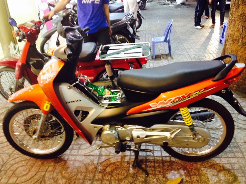 Wave RS 2008 do phong cach the thao - 2