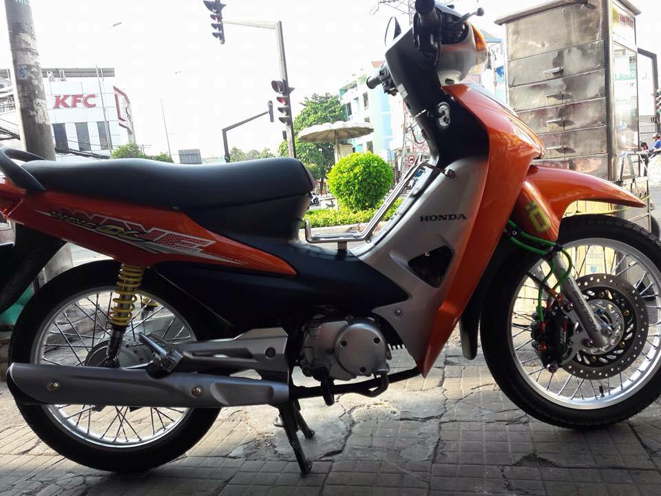 Wave RS 2008 do phong cach the thao - 6