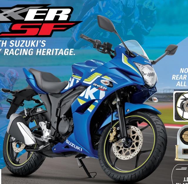 Xe con tay gia re Suzuki Gixxer 150 va Gixxer SF150 duoc trang bi them phanh dia sau - 2