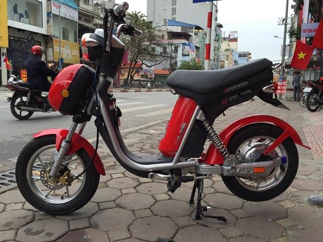 xe dap dien xe dien GIANT NIJIA MILAN xe dep gia uu dai Bao hanh dai han - 2