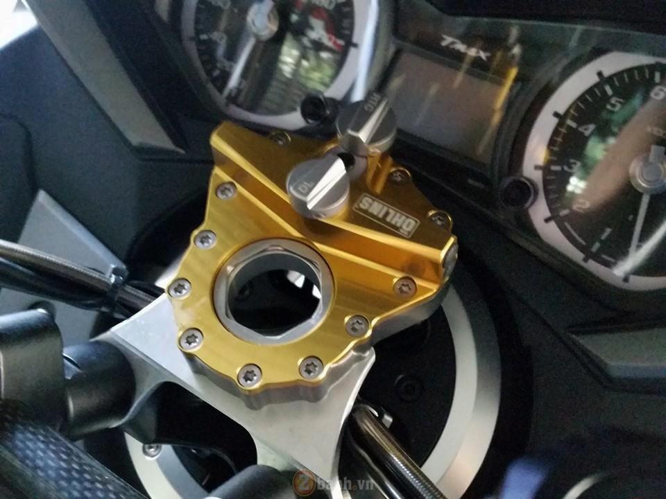 Yamaha TMax voi phien ban do khung tu JC Superbike - 6