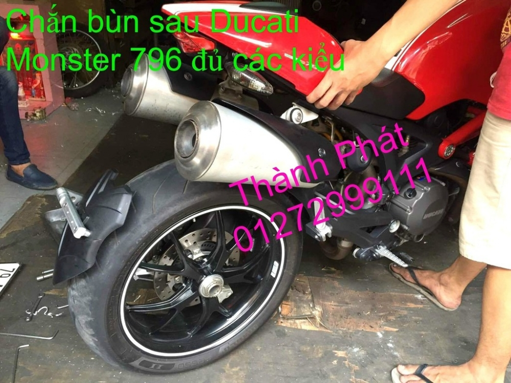Chan bun sau che cho Z1000 2014 2012 Z800 CB1000 Hyperstrada motard M795 KTM Duke 125 200 B - 11
