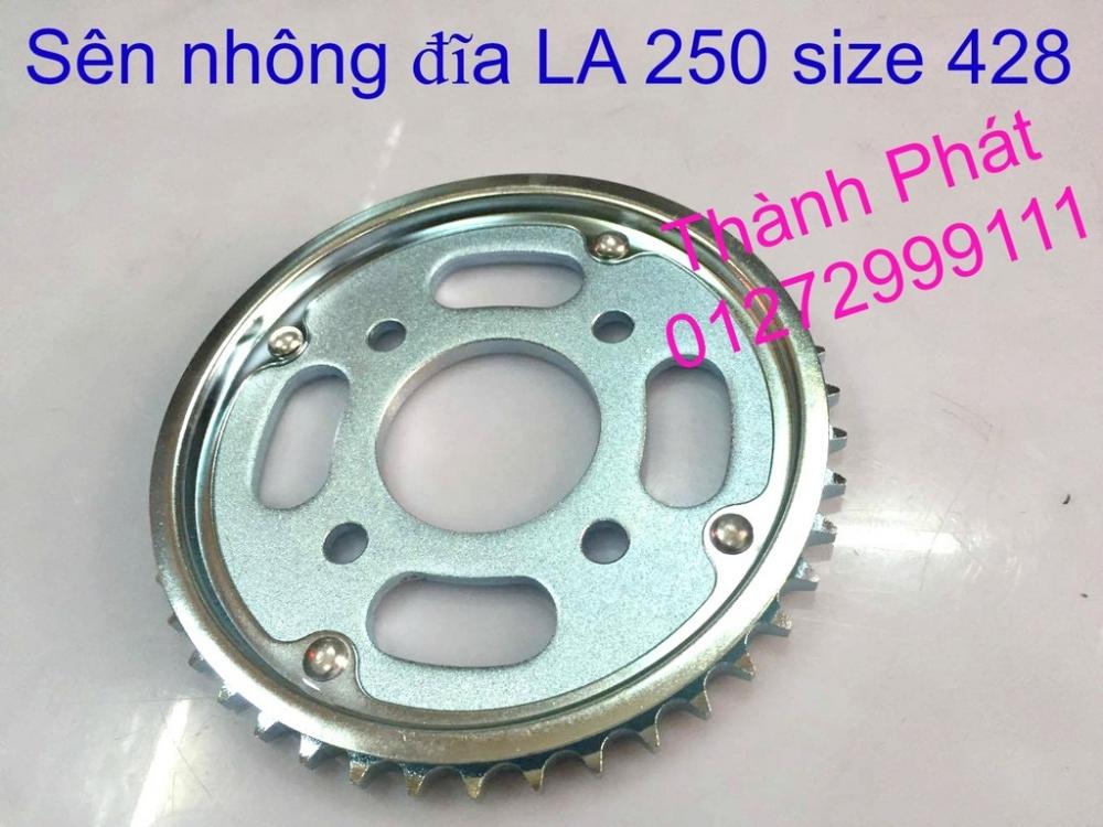 Chuyen phu tung zin va Sen Nhong Dia Honda CB250 CB125 RebeL LA 250 CD125 Yamaha Virago - 46