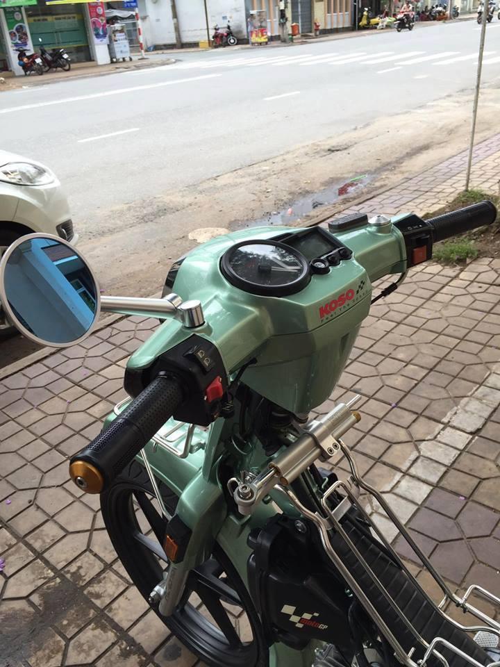 Honda Dream do day phong cach khi don gan nhu full option - 2