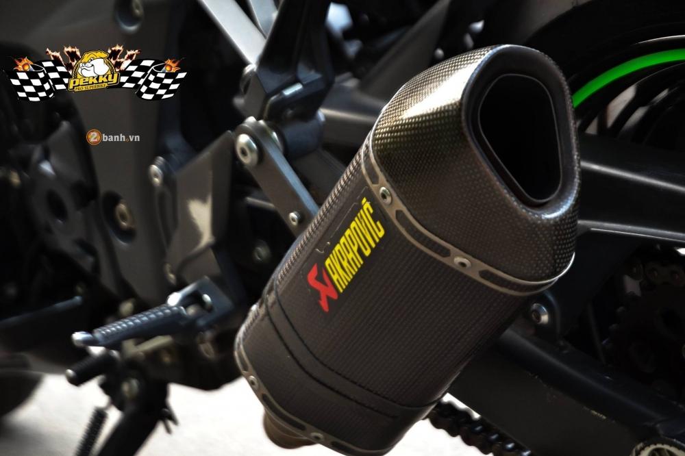 Kawasaki Z1000 day an tuong voi ban do don gian va phong cach - 9