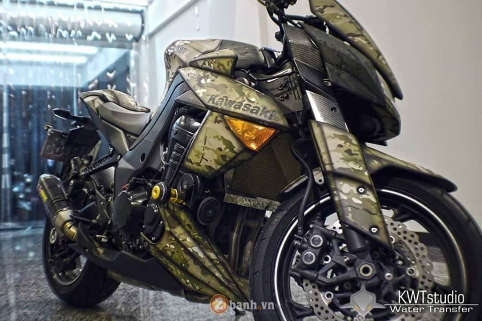 Kawasaki Z1000 do sieu ngau voi phong cach nha binh - 2