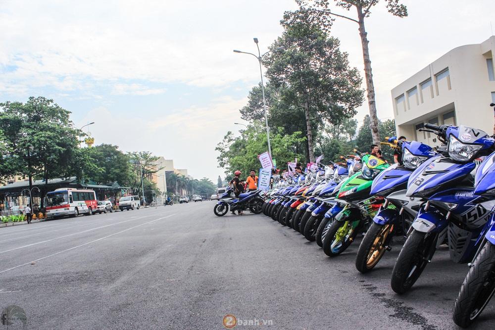 CLB Exciter Bien Hoa 6789 dieu hanh trong Ngay Hoi Van Hoa Gia Dinh 2016 - 2
