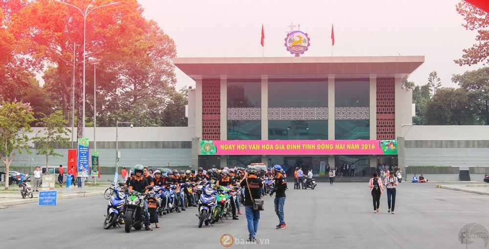 CLB Exciter Bien Hoa 6789 dieu hanh trong Ngay Hoi Van Hoa Gia Dinh 2016 - 6