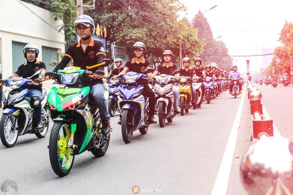 CLB Exciter Bien Hoa 6789 dieu hanh trong Ngay Hoi Van Hoa Gia Dinh 2016 - 14