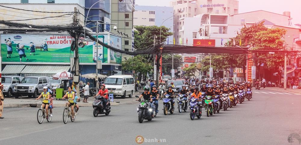 CLB Exciter Bien Hoa 6789 dieu hanh trong Ngay Hoi Van Hoa Gia Dinh 2016 - 18