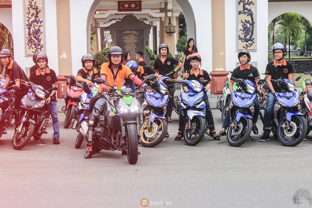 CLB Exciter Bien Hoa 6789 dieu hanh trong Ngay Hoi Van Hoa Gia Dinh 2016 - 24