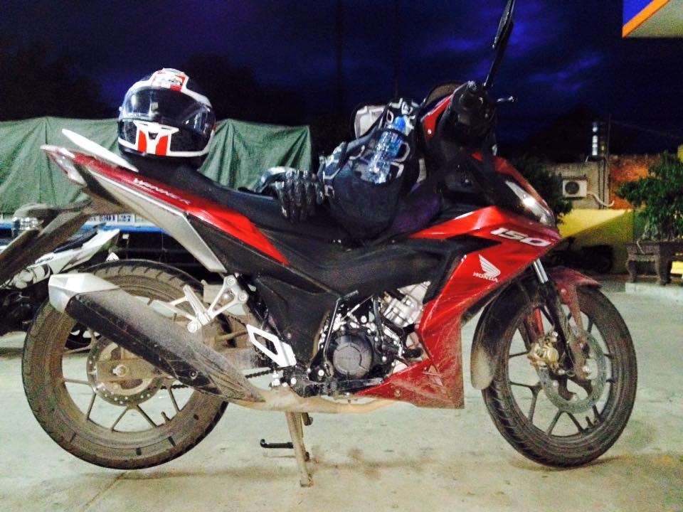 Dien thu cung Honda Winner 150 voi 1995km - 8
