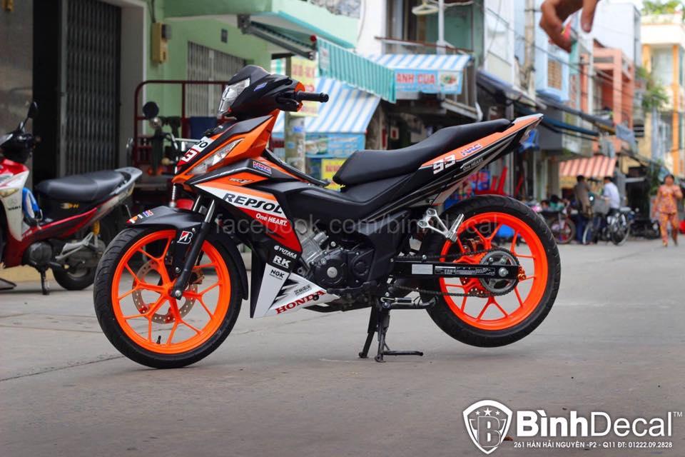 Honda Winner 150 Do phien ban Repsol cuc ky ngau - 2