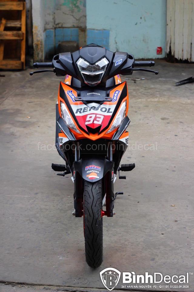 Honda Winner 150 Do phien ban Repsol cuc ky ngau - 6