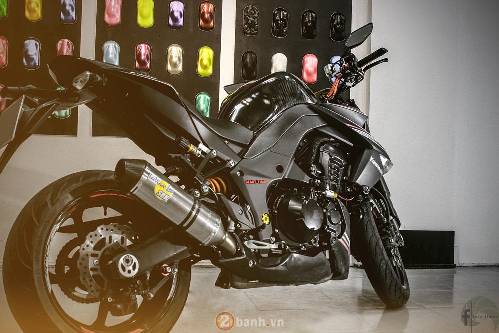Kawasaki Z1000 chat choi voi hang loat option gia tri - 2
