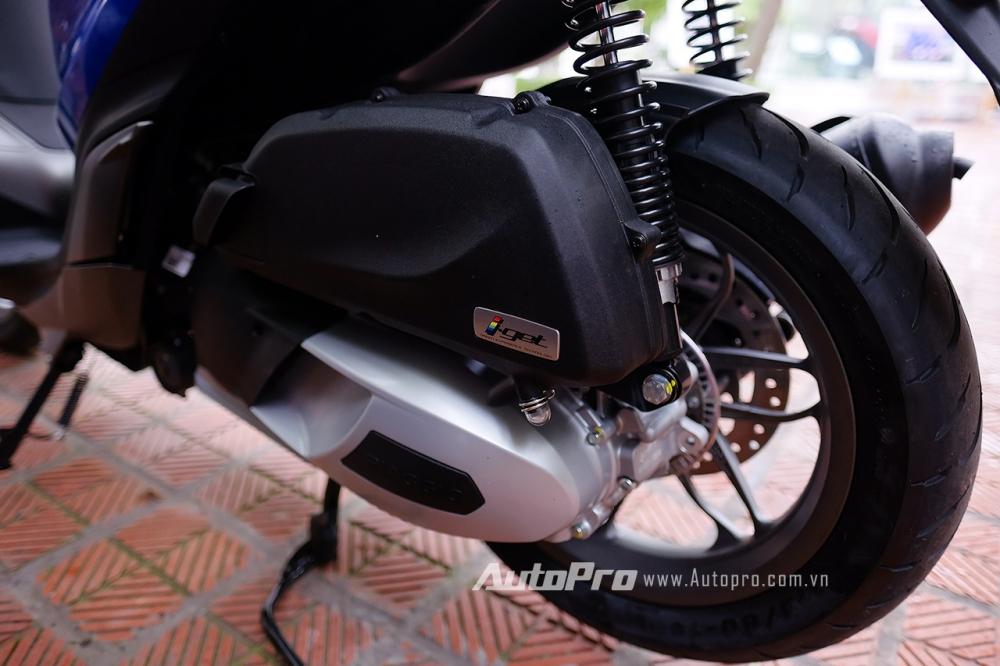Piaggio Medley S 150 ABS vua chot gia 86 trieu Dong tai Viet Nam - 4