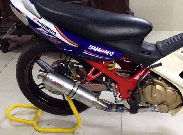 Suzuki FX125 khung suon do cung bo mam Exciter 150 - 2