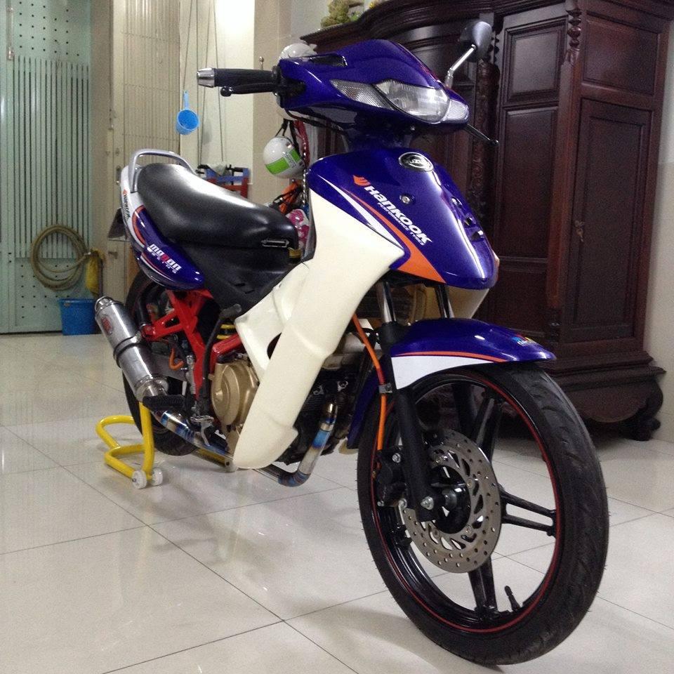 Suzuki FX125 khung suon do cung bo mam Exciter 150 - 6