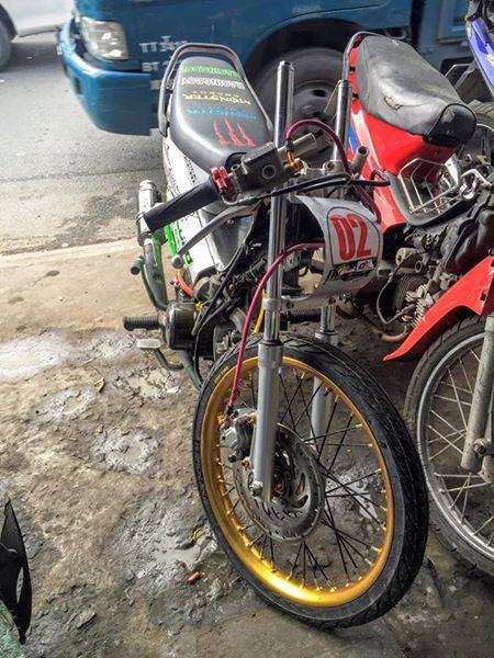 Vai anh Honda Wave phien ban Drag 201m - 2