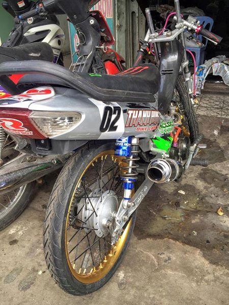 Vai anh Honda Wave phien ban Drag 201m - 3