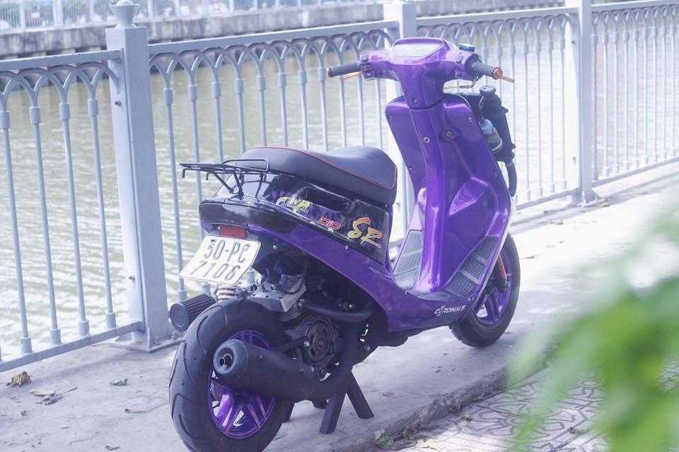Vai tam anh Honda Dio SR do Full 52mm may nuoc - 2