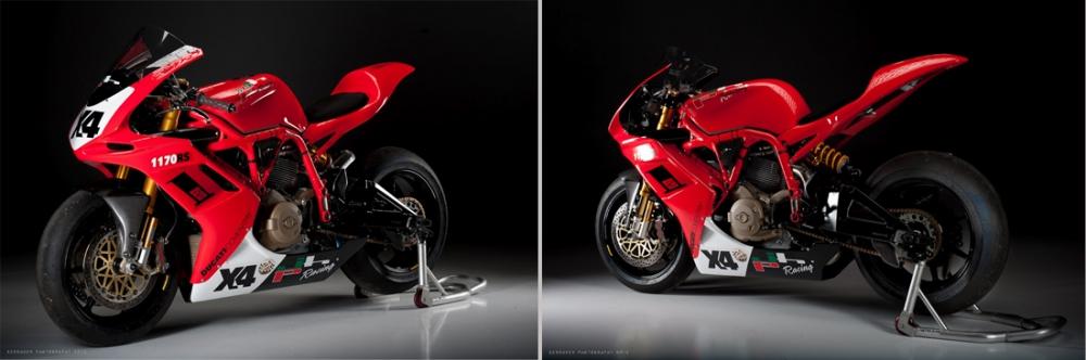 Xe dua Ducati 1170RS voi loat trang bi khung khiep - 9