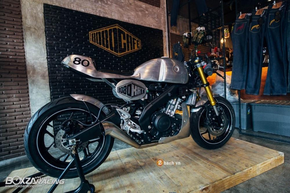 Yamaha MSlaz day an tuong voi ban do Cafe Racer - 2