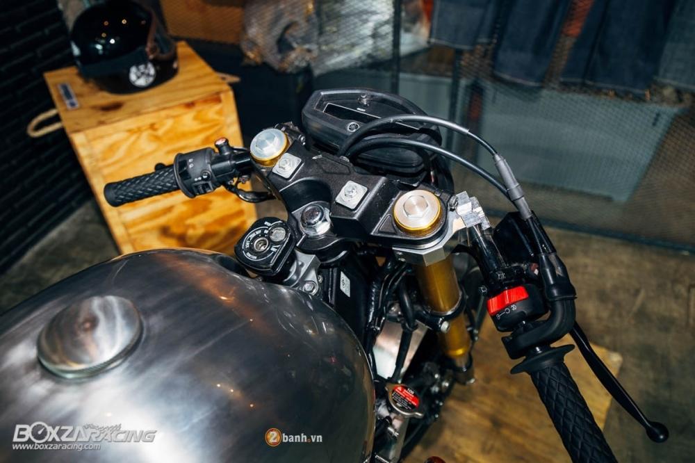 Yamaha MSlaz day an tuong voi ban do Cafe Racer - 5