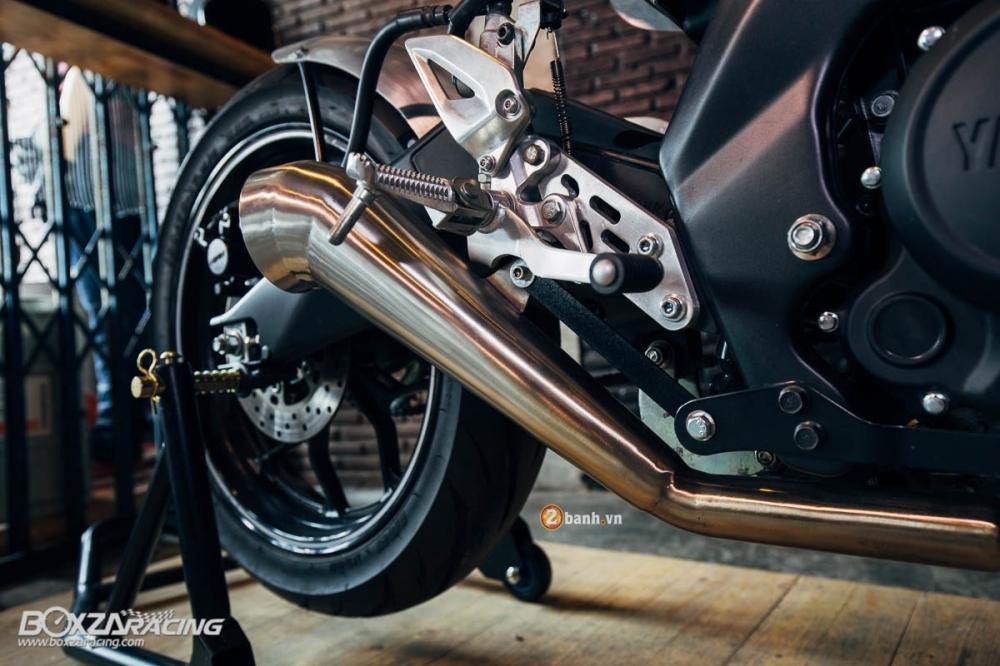 Yamaha MSlaz day an tuong voi ban do Cafe Racer - 12