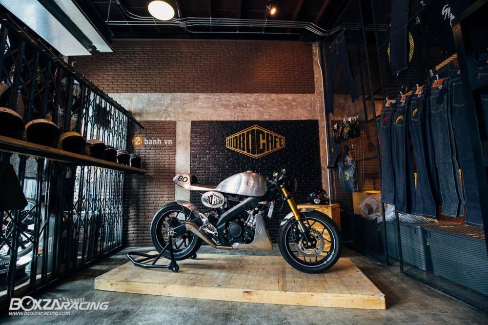 Yamaha MSlaz day an tuong voi ban do Cafe Racer - 14