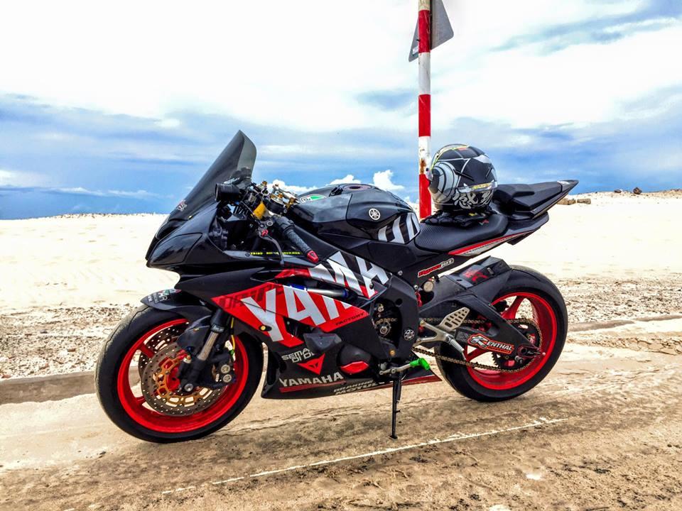 Yamaha R6 do sieu chat va day phong cach cua biker Viet - 2