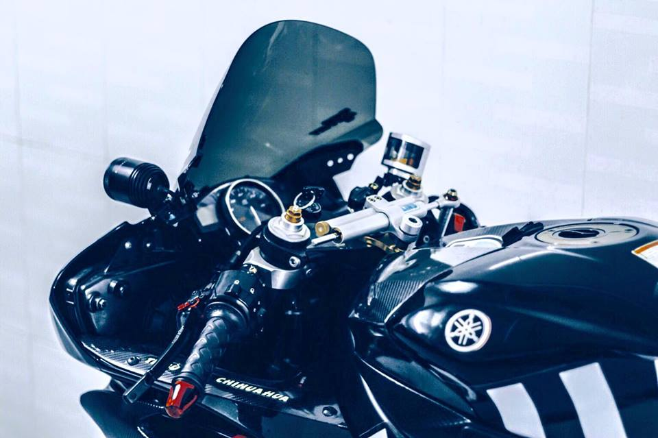 Yamaha R6 do sieu chat va day phong cach cua biker Viet - 4