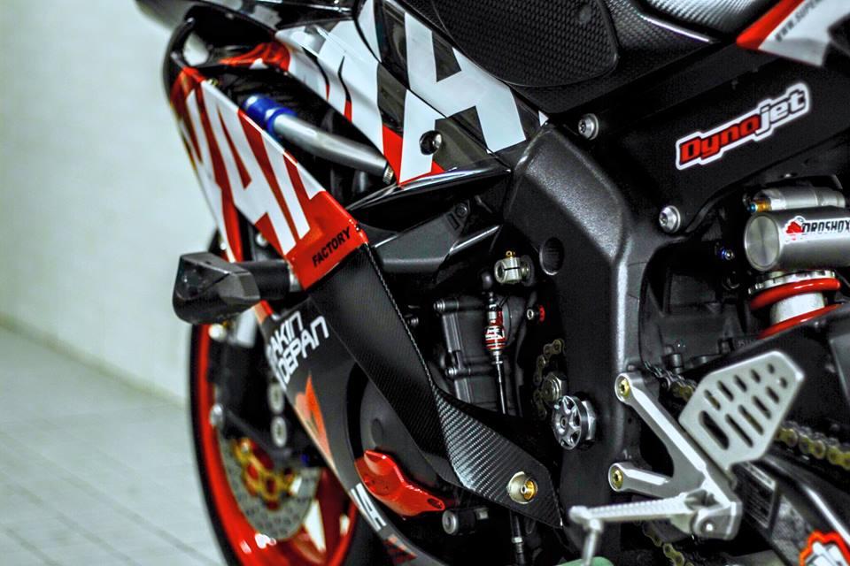 Yamaha R6 do sieu chat va day phong cach cua biker Viet - 8