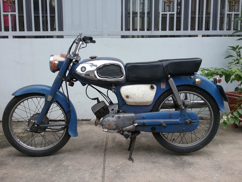 Ban xe Suzuki M15 - 2