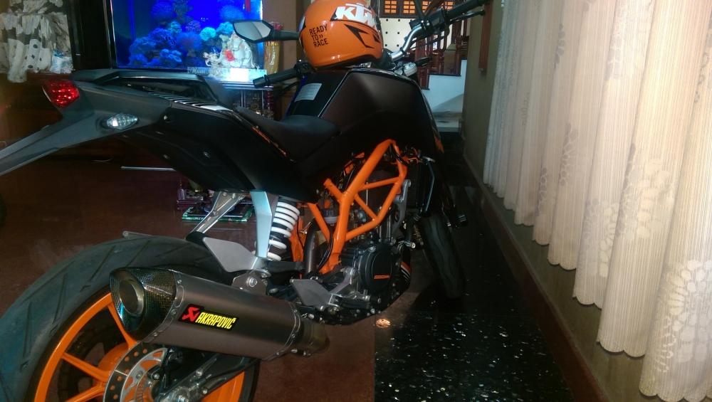 Can ban KTM Duke 390 2014 Hang Chau Au chinh hang - 2