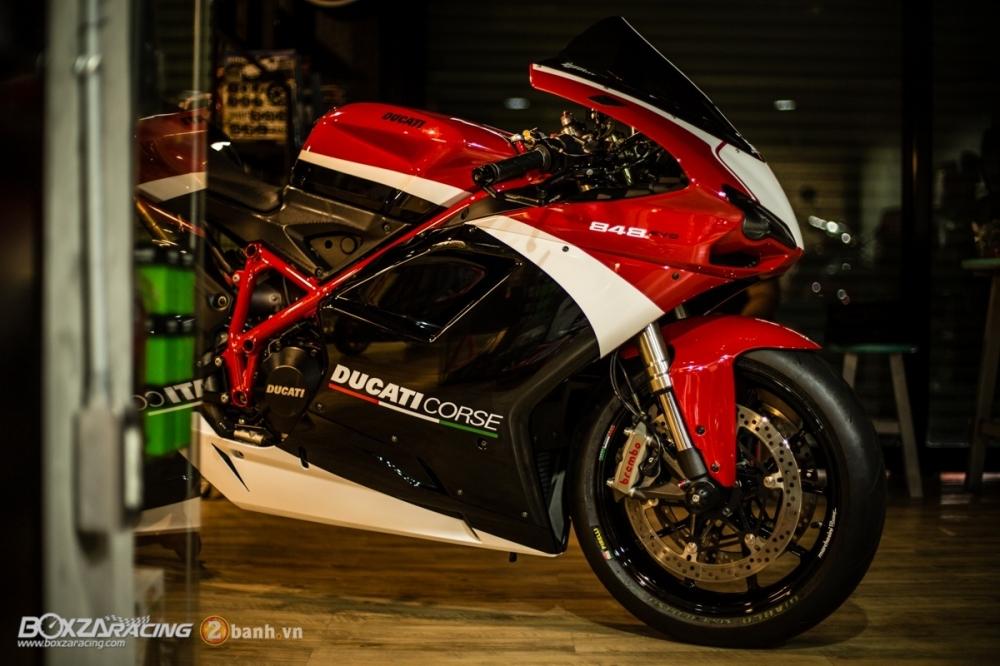 Ducati 848 Evo Corse SE do khung tai BD Speed Racing - 2