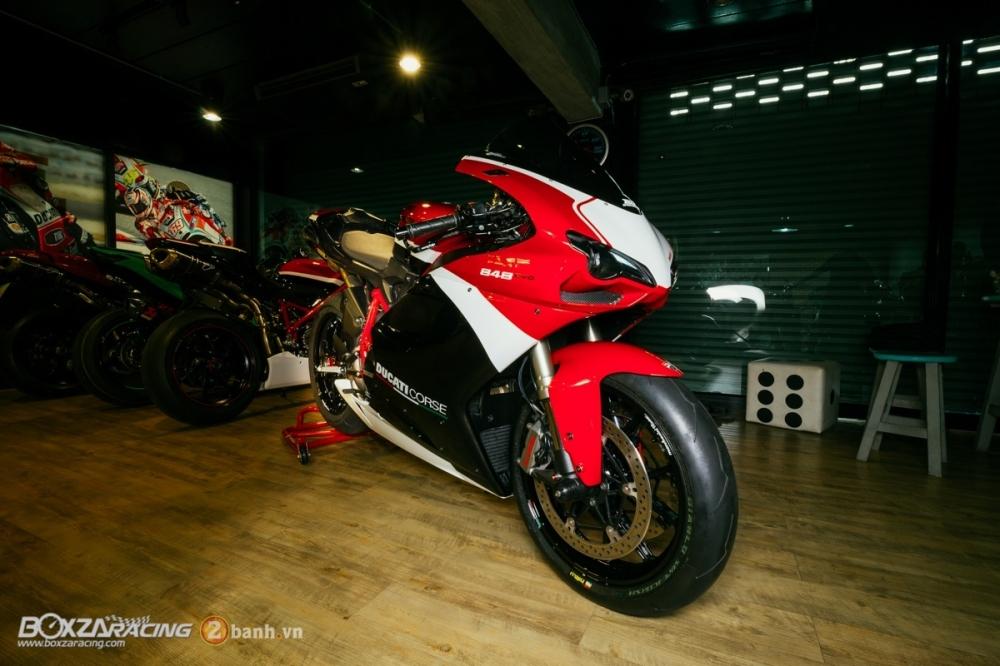 Ducati 848 Evo Corse SE do khung tai BD Speed Racing - 6