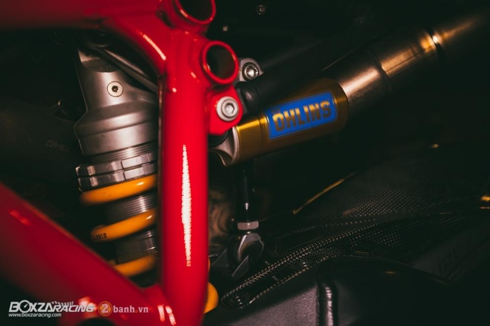 Ducati 848 Evo Corse SE do khung tai BD Speed Racing - 13