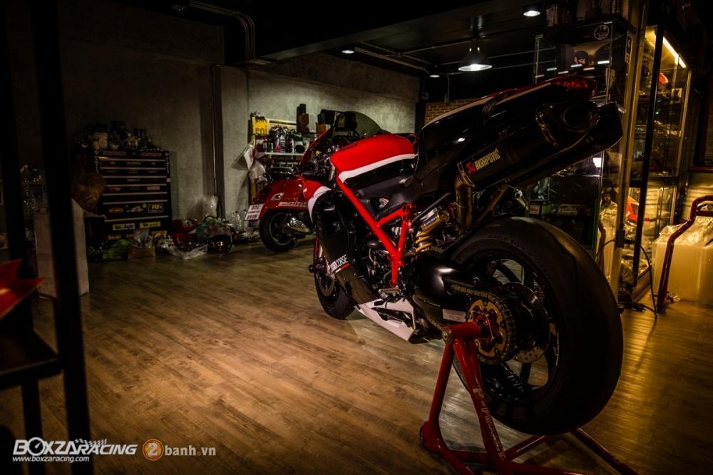 Ducati 848 Evo Corse SE do khung tai BD Speed Racing - 20