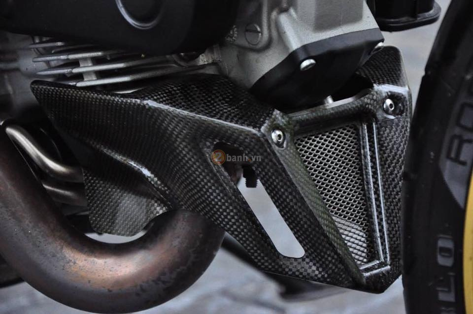 Ducati Monster 795 trong ban do full option day phong cach - 8