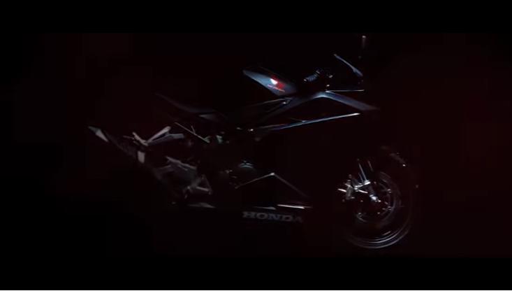 Honda he lo doan Teaser gioi thieu mau CBR250RR hoan toan moi