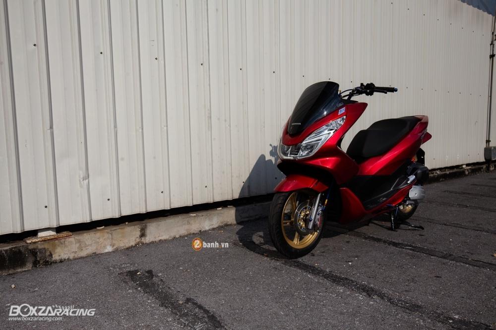Honda PCX 150 day an tuong voi phien ban Red Dragon - 2