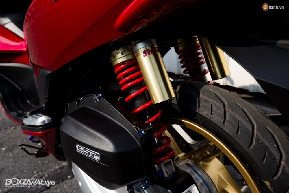 Honda PCX 150 day an tuong voi phien ban Red Dragon - 8