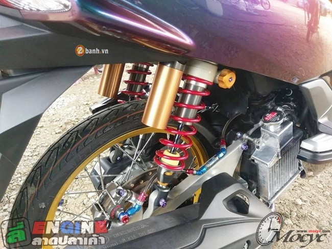 Honda PCX Ocean Mystic cung nhieu trang bi hang khung - 8