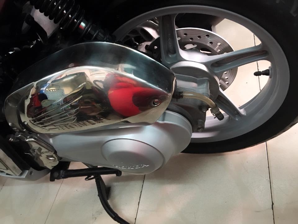 Honda Sh Y 150i mau do den bstp 20789 chinh chu - 6