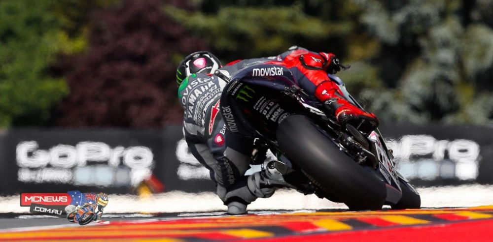 MotoGP Lan gan nhat ma Rossi chien thang o Duc da dien ra cach day dung 10 nam - 2